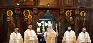 Посјета митрополита Хризостома и архијерејска литургија